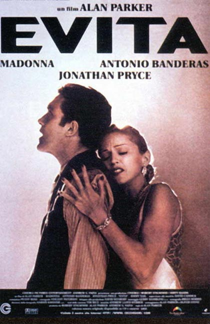 an analysis of the film evita by alan parker Madonna plays the role of eva peron in the musical movie 'evita', directed by alan parker.